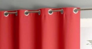 Штора уличная на веранду (В-220*Ш-150) Красная, (ткань Оксфорд 600)